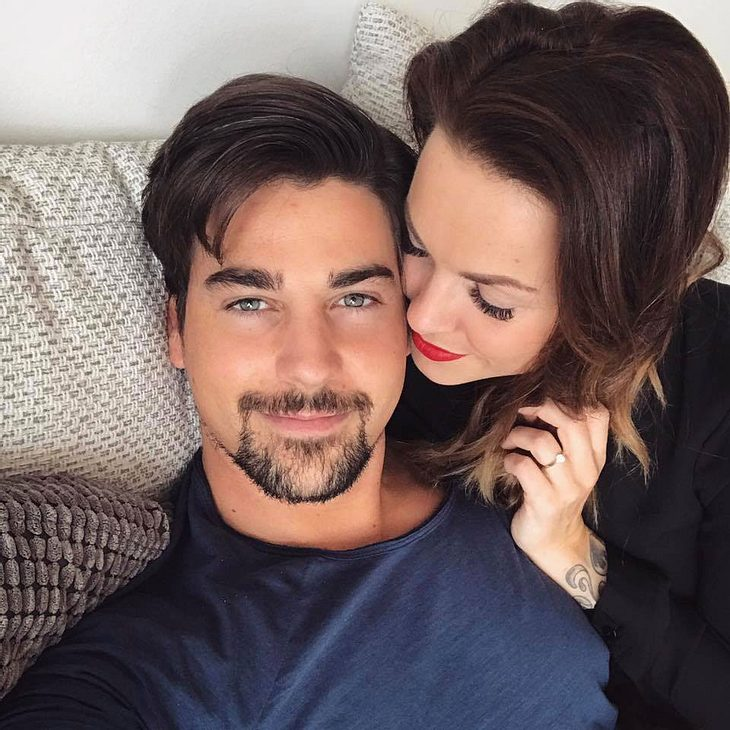 Denise Temlitz und Patrick Cuninka bestätigen ihre Verlobung