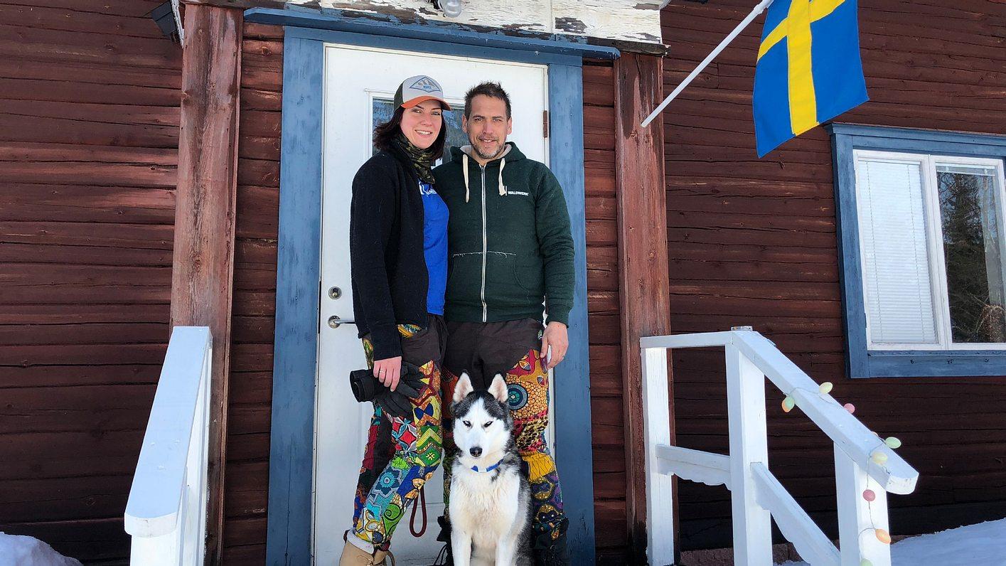 Der Alptraummann-Sven und Julia in Schweden