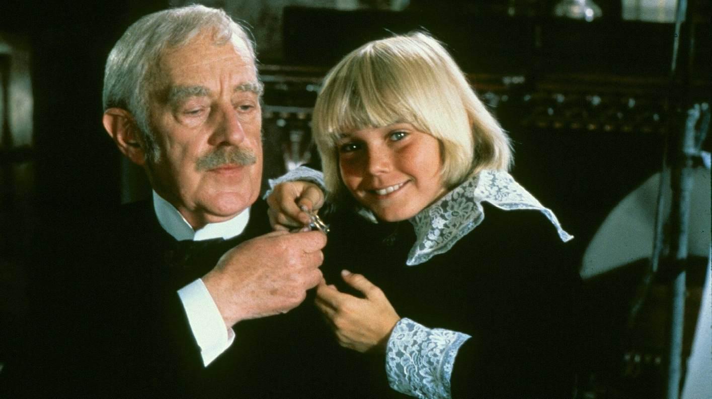 Der kleine Lord alias Ricky Schroder mit Großvater