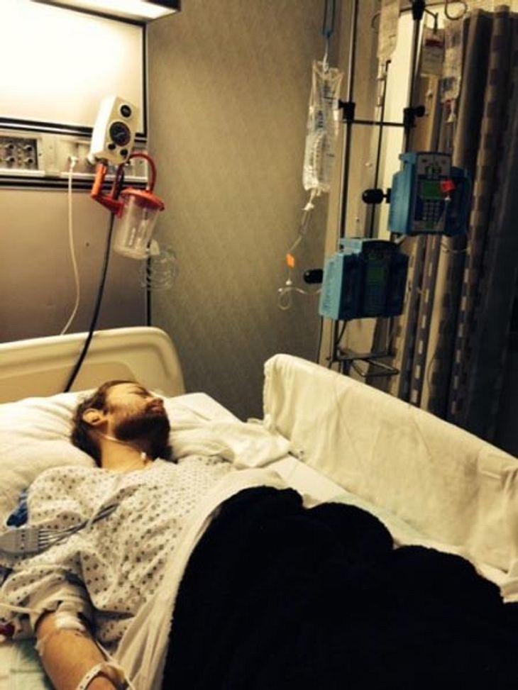 undefined Deryck Whibley im Krankenhaus