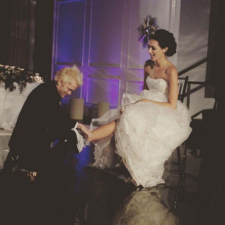 Deryck Whibley heiratet Ari Cooper