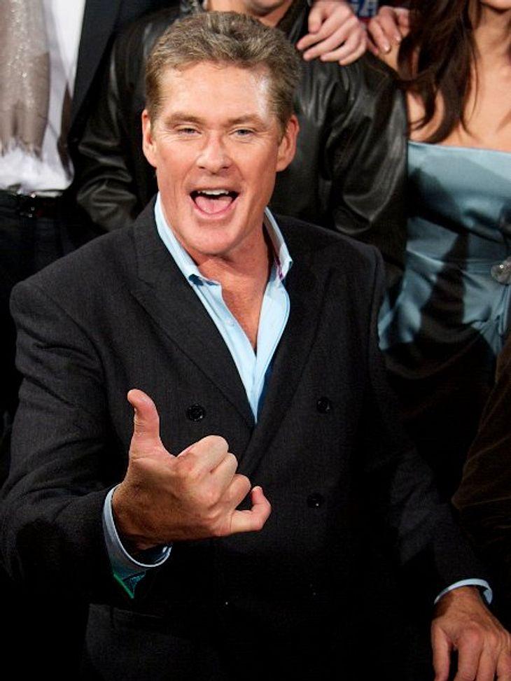 """Deutsche Stars? Hollywood-Stars mit deutschen Wurzeln: David Hasselhoff,David Hasselhoff (59) ist nicht erst seit """"I've Been Looking For Freedom"""" und dem Mauerfall mit uns Deutschen verbunden. Er trägt auch deutsche Gene in sich:"""