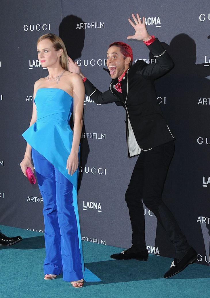 Diane Kruger: Lustige Fotobomb-Attacke von Jared Leto