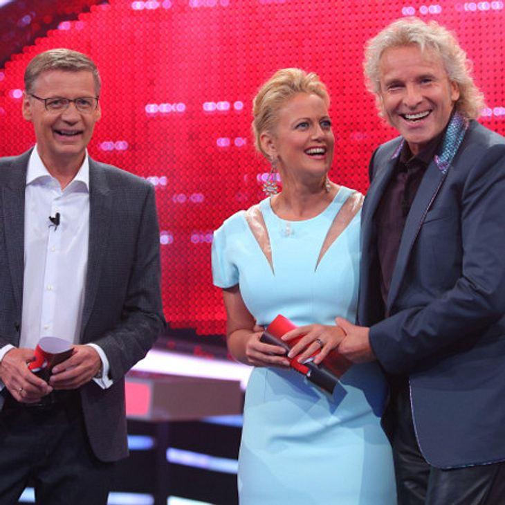 """Günther Jauch, Thomas Gottschalk und Barbara Schöneberger bei """"Die 2"""""""