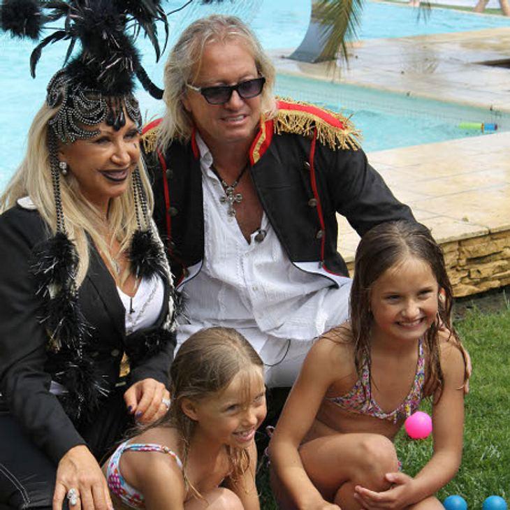 Familie Geiss in Feierlaune