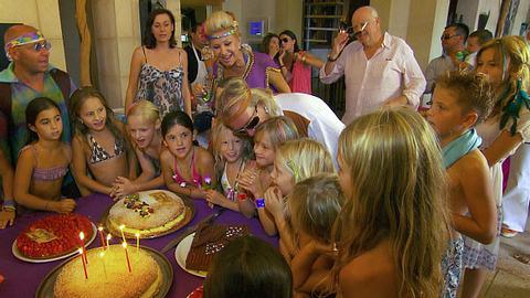 Geburtstagsparty für Shania Geiss. - Foto: RTL II