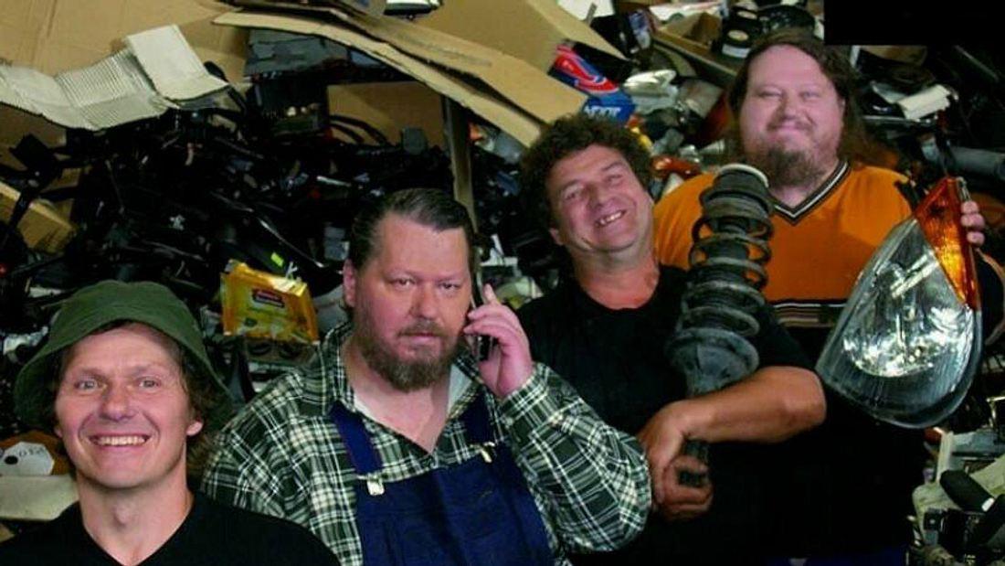 Die Ludolf Brüder damals vereint zum Serienstart 2004