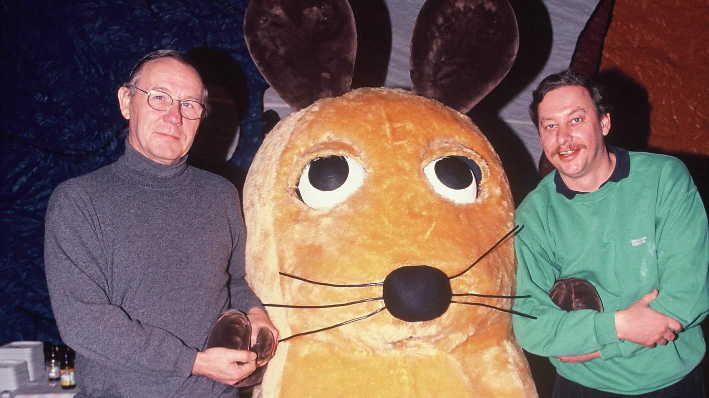 Armin Maiwald und Christoph Biemann in Die Sendung mit der Maus