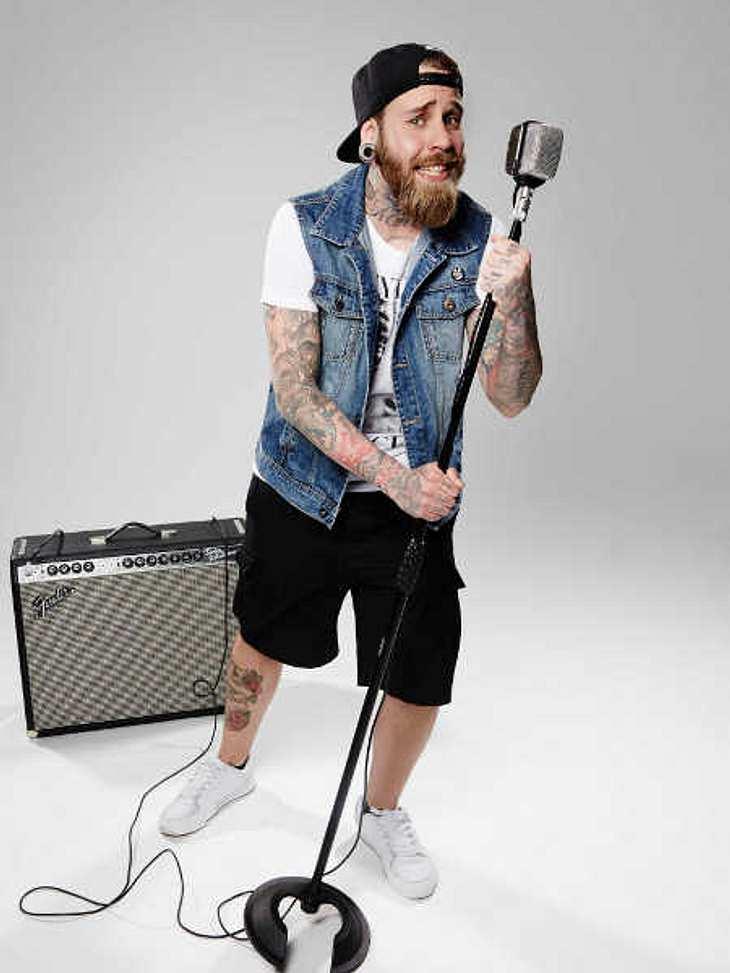 Die Band-Kandidat Matthias Engst ehrt Samu Haber mit Penis-Tattoo!