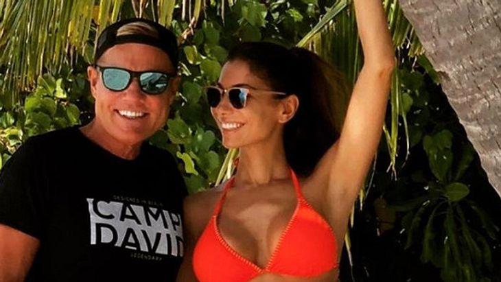 Dieter Bohlen zeigt seine heiße Freundin Carina