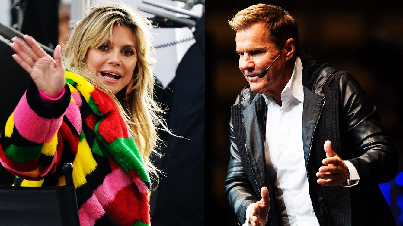 Dieter Bohlen und Heidi Klum