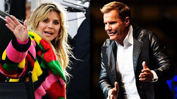 Dieter Bohlen und Heidi Klum - Foto: imago