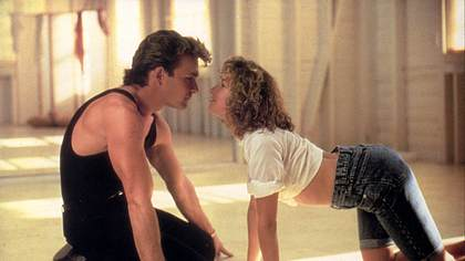 Jennifer Grey und Patrick Swayze in Dirty Dancing - Foto: Imago