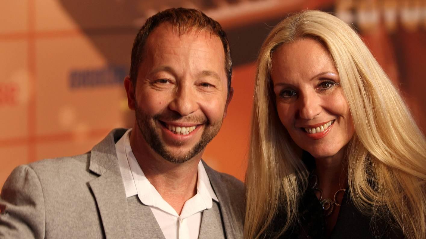 DJ Bobo und seine Frau Nancy Baumann