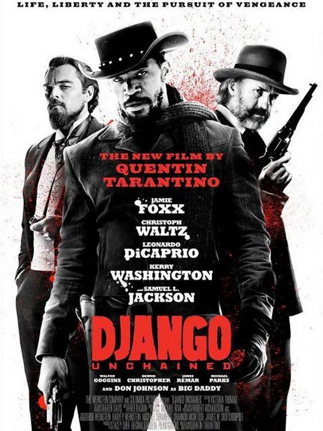 """Die Oscar-Filme 2013""""Django Unchained"""" könnte Chancen auf drei Oscars haben. Unter anderem ist  Christoph Waltz als bester Nebendarsteller nominiert."""