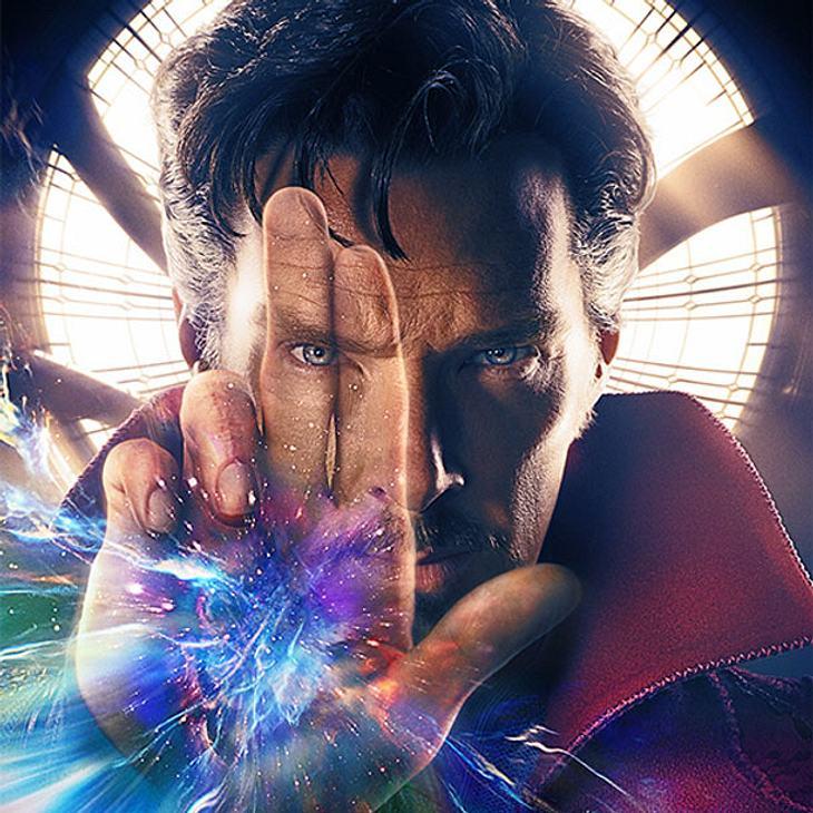 Benedict Cumberbatch als Doctor Stranger