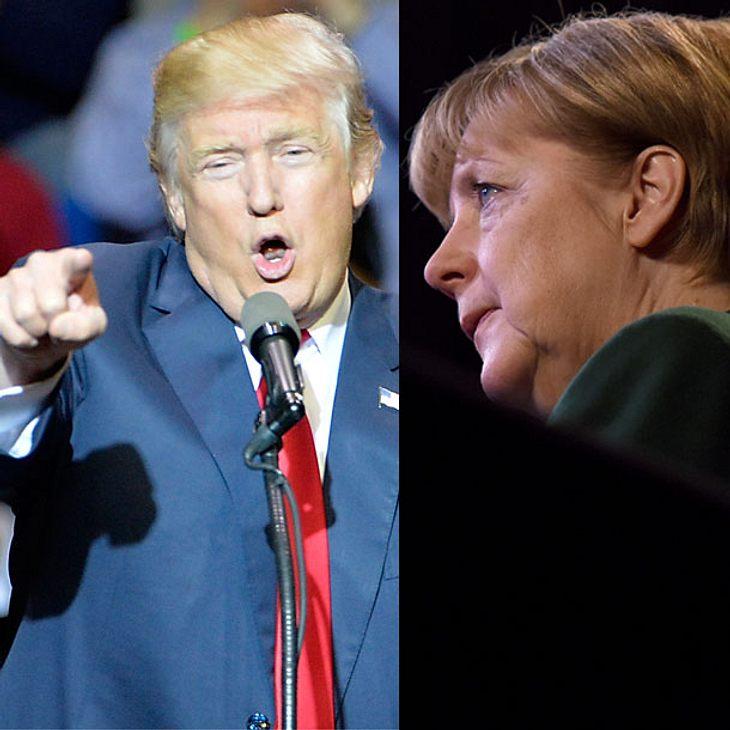 Schock! Donald Trump wird der Nachfolger von Angela Merkel!