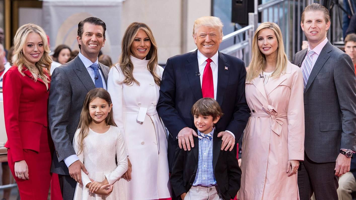 Donald Trump, seine Kinder und Enkelkinder
