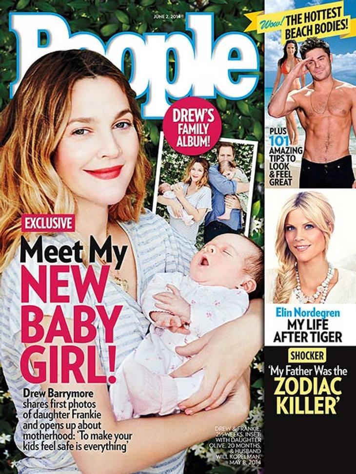 Drew Barrymore zeigt ihre Tochter Frankie