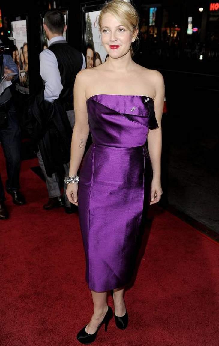 Victoria BeckhamDrew Barrymore steht auch auf die klaren Schnitte von Victoria Beckham.