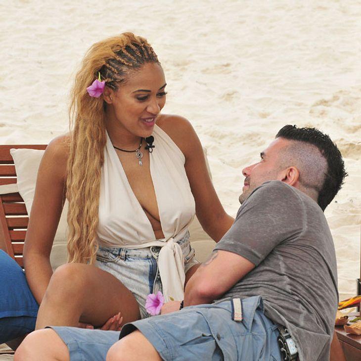Dschungelcamp: Marc Terenzi und Sarah Joelle Jahnel gehen schon auf Flirtkurs