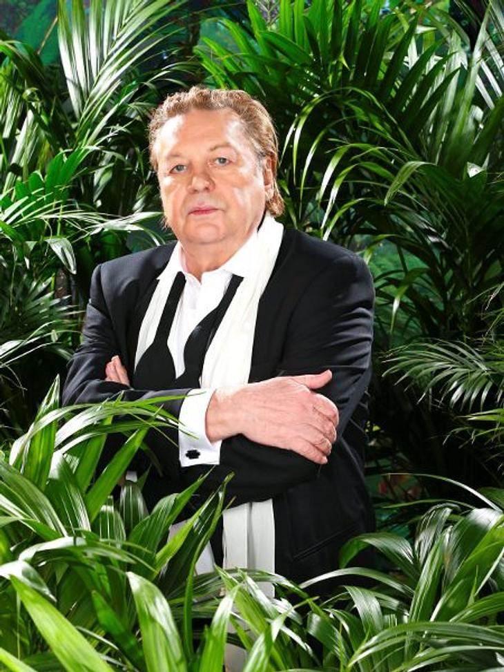 Helmut Berger nimmt seine Klobrille mit in den Dschungel