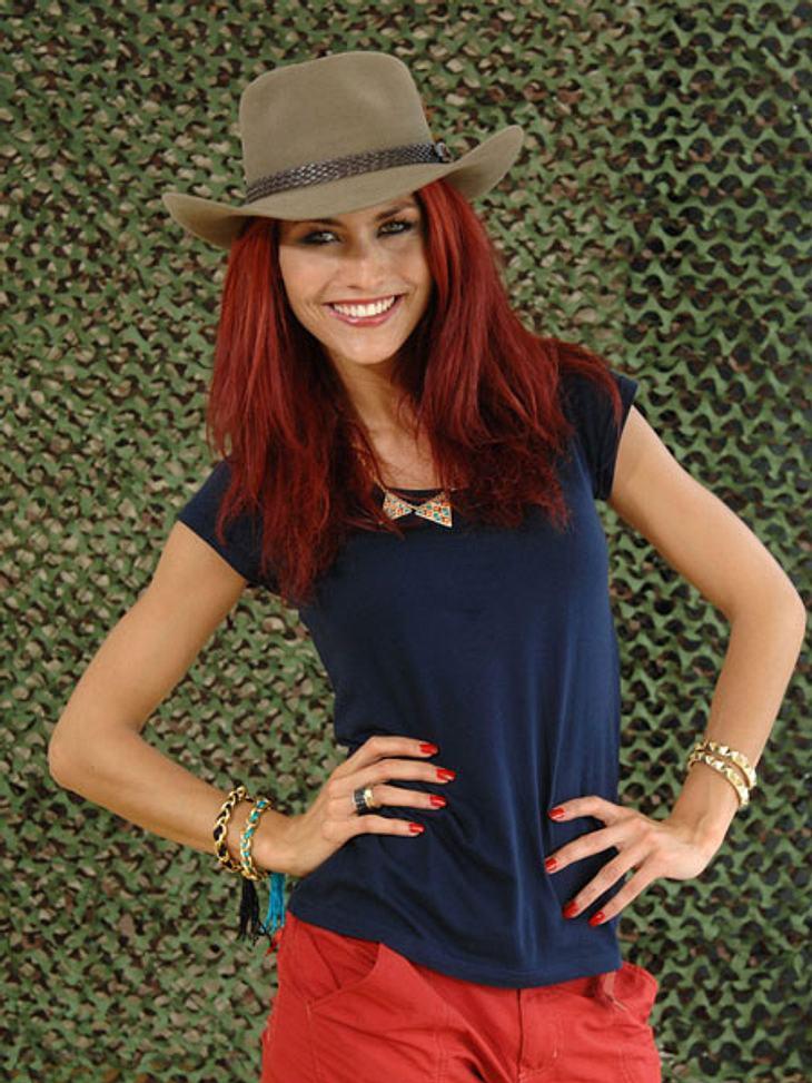 Dschungelcamp 2013 - die Luxusgegenstände,Fiona Erdmann (24) möchte es auch im Dschungel gemütlich und heimelig haben.