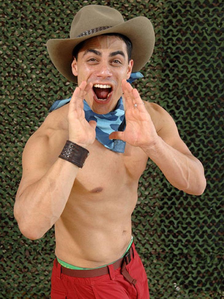 Dschungelcamp 2013 - die Luxusgegenstände,Hobby-Macho Silva Gonzalez (33) will im Dschungel Sex haben - welche Luxusgegenstände ihm da wohl wichtig sind?