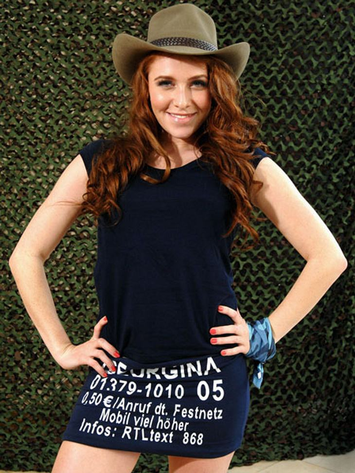 """Dschungelcamp 2013 - die Luxusgegenstände,Ex-""""Bachelor""""-Kandidatin Georgina Fleur (22) ist ihr Styling äußerst wichtig!"""