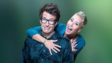 Dschungelcamp-Moderatoren Sonja Zietlow und Daniel Hartwoch - Foto: TVNOW / Stephan Pick