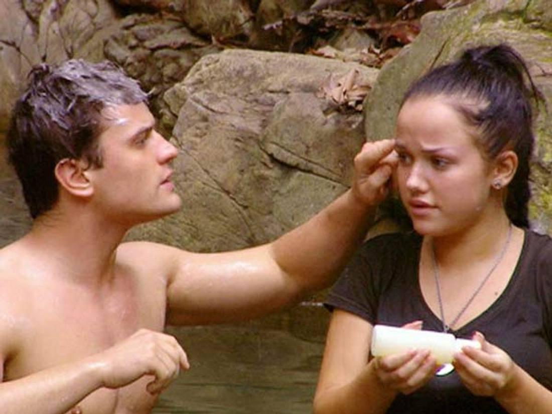 Rocco Stark und Kim Gloss kamen sich schon im Dschungelcamp näher