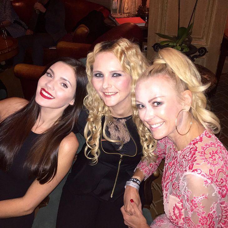Nathalie Volk, Helena Fürst und Jenny Elvers waren gemeinsam im Dschungel