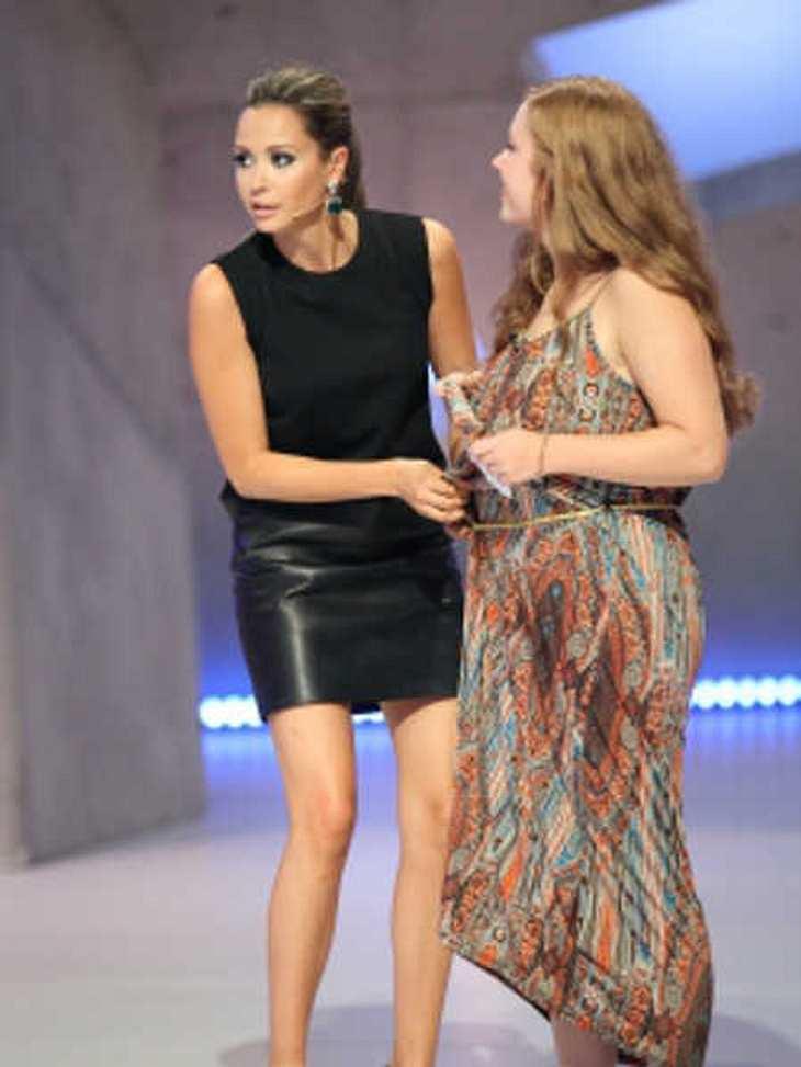 DSDS 2015: Mandy Capristo tauscht Kleid mit Kandidatin