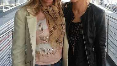 Aneta Sablik hat Carmen Geiss getroffen. - Foto: Facebook / Aneta Sablik
