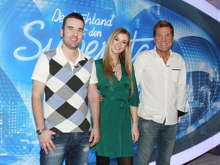 DSDS Jubiläum: Die Jury der 7. Staffel,Die siebte Staffel startete 2010 mit der gleichen Jury-Besetzung: Musikmanager Volker Neumüller und MTV-Moderatorin Nina Eichinger bewerteten die Kandidaten an der Seite von Poptitan Dieter Bohlen.