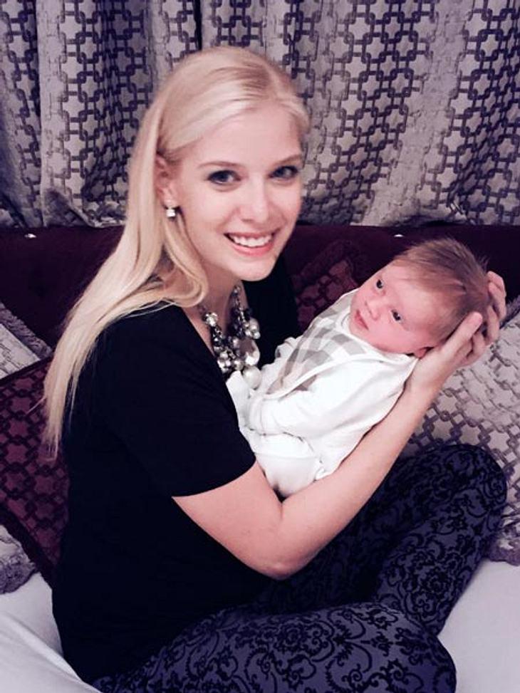 DSDS-Oksana zeigt Baby Milan