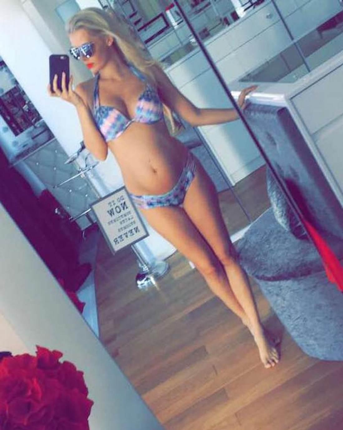 DSDS-Oksana: Sexy Babybauch-Foto im Bikini