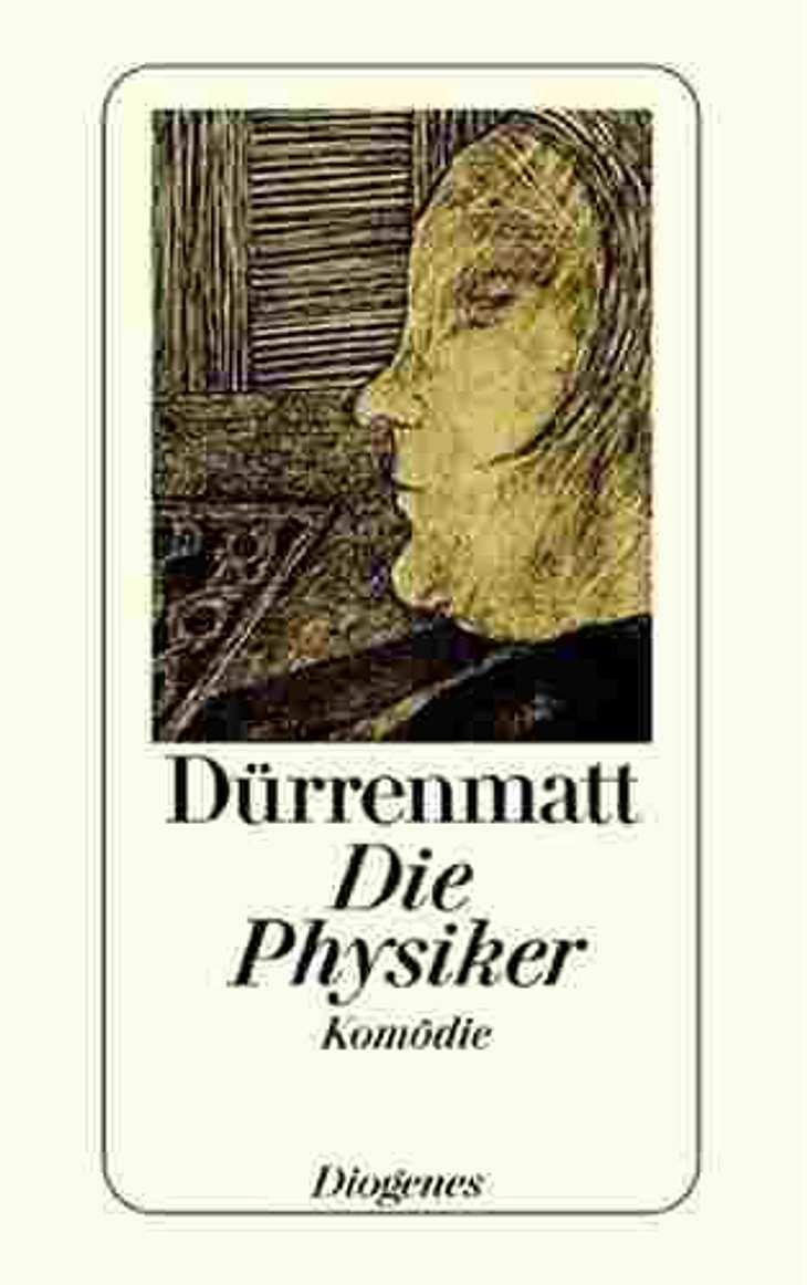 """""""Die Physiker"""" von Friedrich DürrenmattDarum geht es in """"Die Physiker"""" von Friedrich Dürrenmatt: Der begnadete Physiker Johann Wilhelm Möbius hat die """"Weltformel"""" entdeckt, aber aus Angst vor den Konsequenzen s"""