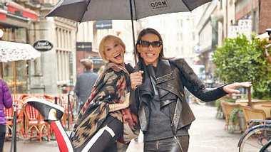 """E! In the City"": Mit Oona Chanel durch Stockholm! - Foto: Gert Krautbauer für E! Entertainment"