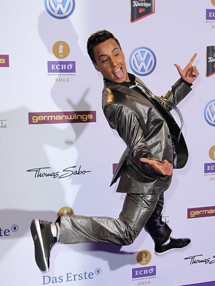 """Echo 2012 - Crazy FashionGute-Laune-Overload: Obwohl der Anzug vom """"Checker"""" nicht von der Stange ist, war aber eher der Typ an sich total crazy..."""