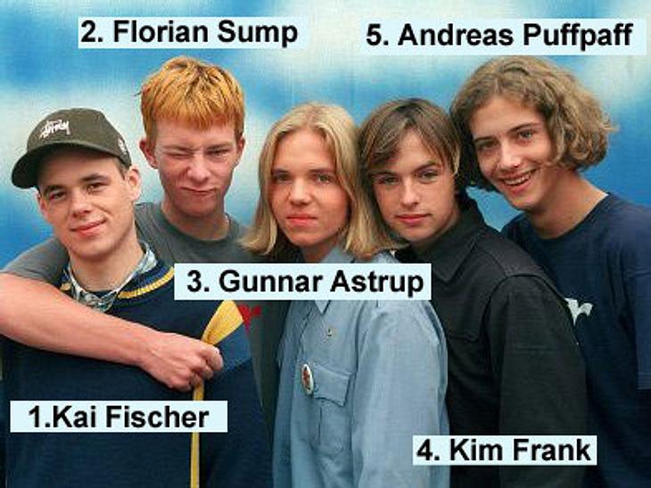 Die Boygroups der 90erEs ist der Traum einer jeden Schülerband: einmal ganz groß rauskommen! Genau das ist den fünf Flensburger Klassenkameraden Kim Frank (29), Kai Fischer (31), Florian Sump (30), Andreas Puffpaff (30) und Gunnar Astrup (2