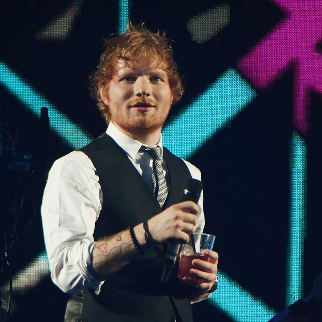 Ed Sheeran bei dem EMAs