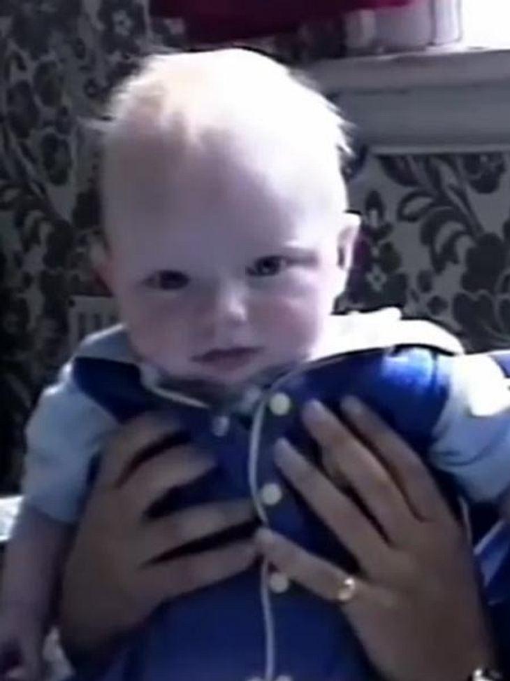 Als Baby war Ed Sheeran noch blond