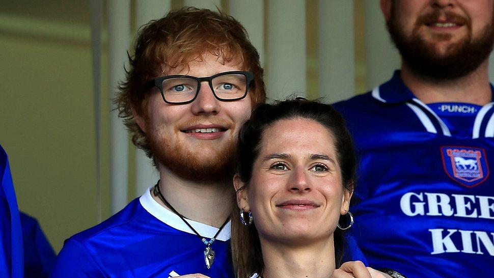 Ed Sheeran und Cherry Seaborn - Foto: Getty Images