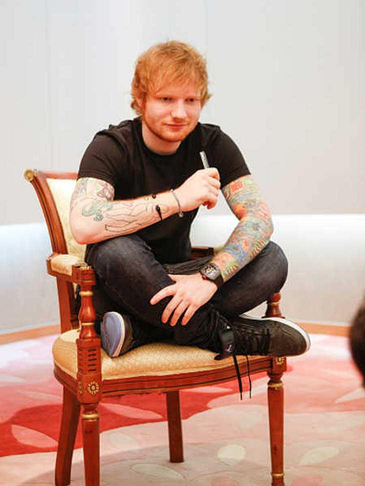 Ed Sheeran verrät sein Diät-Geheimnis