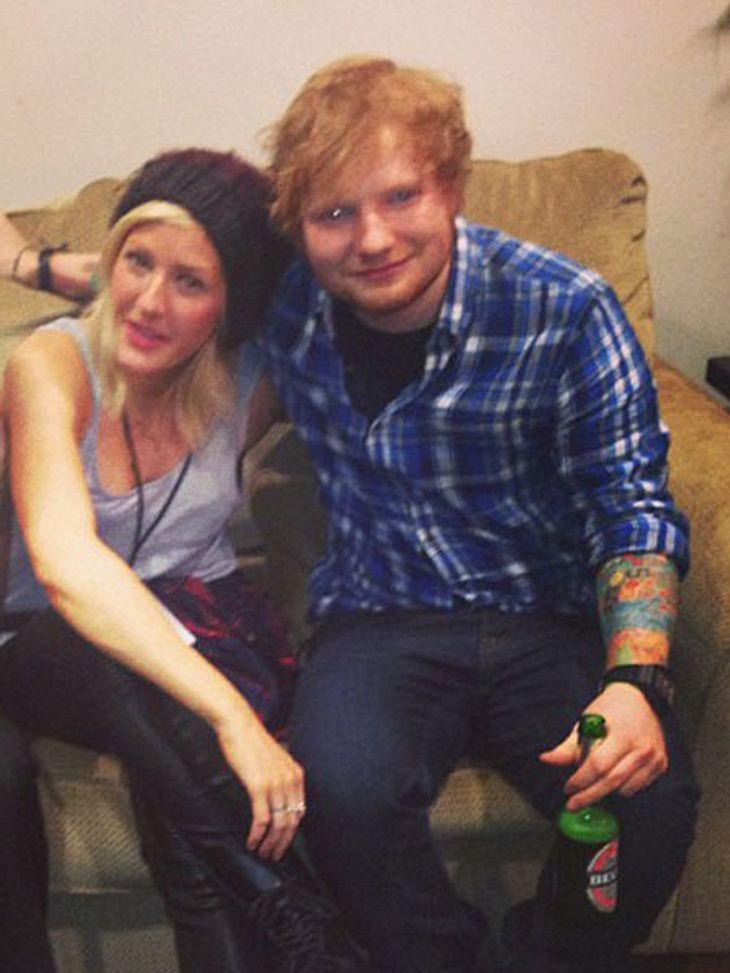 Was geht zwischen Ed Sheeran und Ellie Goulding?