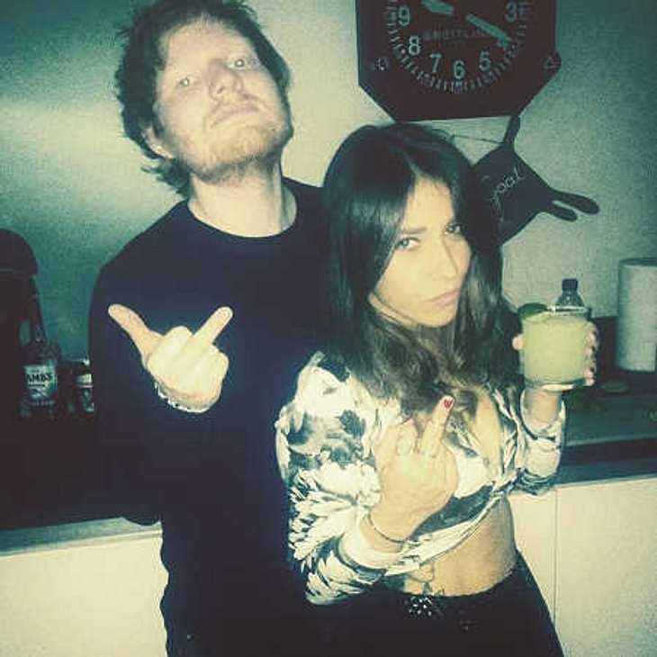 Ed Sheeran: Kurz vor der Trennung von Freundin Athina Andrelos?