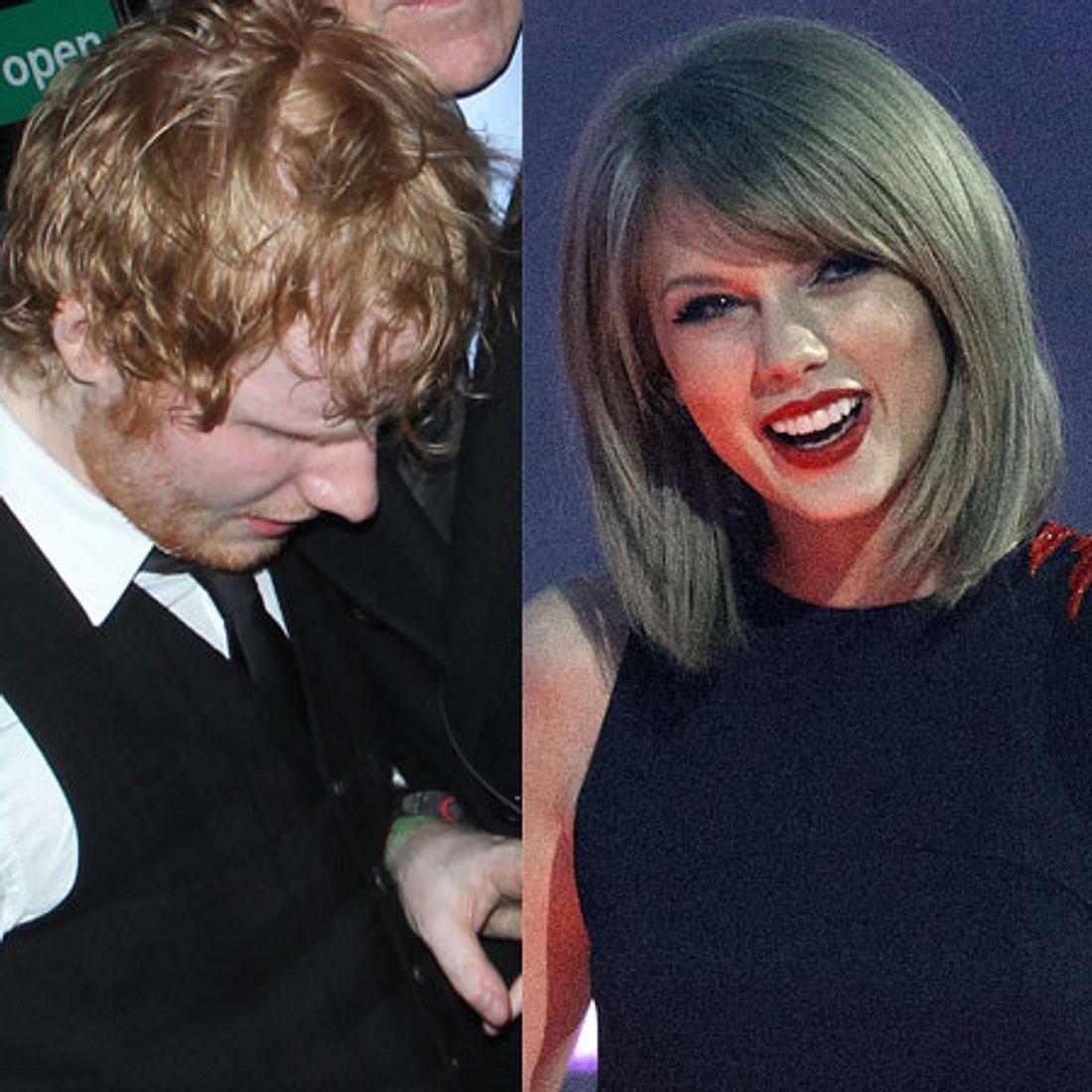 Taylor Swift versteckt Ed Sheeran vor der Polizei!