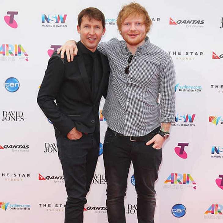 Ed Sheeran James Blunt Tour