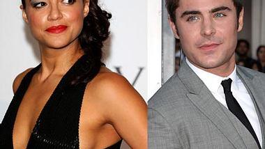 Zac Efron knuscht mit Michelle Rodriguez